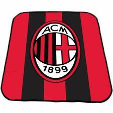 OFFICIAL Ac Milan FC Crest Coperta in pile 127cm x 152cm-Biancheria da letto-camera da letto
