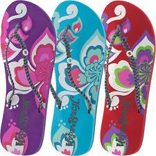 femmes URBAN BEACH SURF pétales tongs sandales taille RU 3 - 8 piscine fw571
