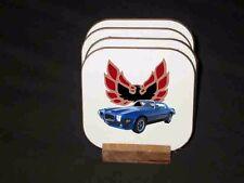 NEW 1973 Pontiac Firebird, Formula,and  Trans AM Hard Coaster Sets! 8 available!
