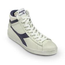 Scarpe Sneaker Uomo DIADORA Modello Game L High Waxed White Blue Caspian