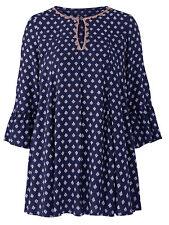 New Ladies Joanna Hope Ethnic Print Swing Top Tunic Bell Sleeve Top RRP £39