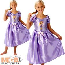 Raperonzolo Costume Bambina Disney Princess contorte LIBRO Per Bambini Costume