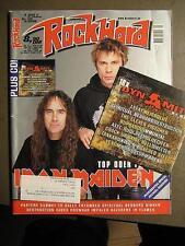 ROCK HARD METAL MAGAZINE 156 - 2000 - IRON MAIDEN PANTERA ENTOMBED INCL. CD