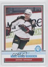 2009-10 O-Pee-Chee Retro #471 Marc-Andre Bergeron Minnesota Wild Hockey Card