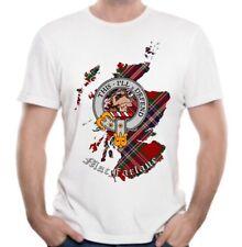 MacFarlane Clan T-Shirt - Scottish Heritage Clothing - Scotland Cotton Tee