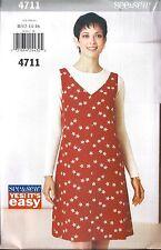 UNCUT Butterick Vintage Sewing Pattern Misses A Line Pullover Jumper 4711 HTF FF