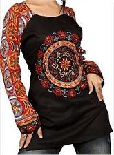 Beautiful Kurti Tunic Tops : Long Sleeve : FREE SHIP