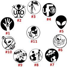 UFO Vinyl Decal Sticker Car Window Wall Laptop Ipad Aliens Area 51 Space Zombies