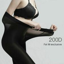 Super Elastic Plus Size Tights Warm Winter Thermal Velvet Pantyhose Stockings`