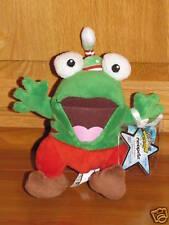 Neopets Christmas QUIGGLE Elf Plush LE Series 5 Santa's Helper Frog Plushie NEW!