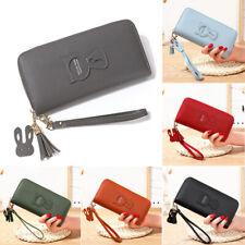 Ladies Faux Leather Women Wallet Long Clutch Card Holder Cash Purse Handbag