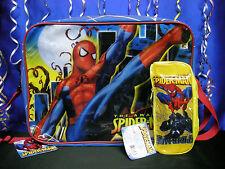 Spiderman School Bag Spiderman School Set add Thermos or Pencil Case or Lunchbox