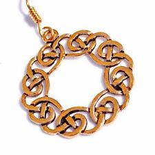 Ohrring kelt. Kranz - Bronze / Paar