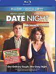 DATE NIGHT (Blu-ray Disc, 2010, 2-Disc Set, Canadian; Includes Digital Copy) NEW