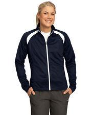 Sport-Tek Women's Polyester Long Sleeve Zippered Pocket Casual Jacket. LST90
