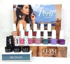 Gelcolor Soak-off Nail Polish PERU Collection - Pick Any Color/Base/Top .5oz