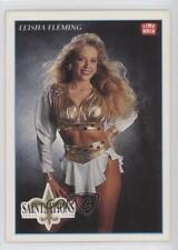 1992 Lime Rock Pro Cheerleaders 57 Leisha Fleming New Orleans Saints Rookie Card