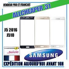 VITRE POUR ÉCRAN TACTILE SAMSUNG GALAXY J5 2016 J510 noir blanc or