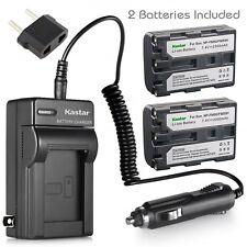 Kastar Battery Charger Sony NP-FM50 NP-FM55H DSC-F707 DSC-F717 DSC-F828 DSC-S85