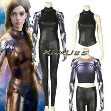 HOT Alita Suit Battle Angel Cosplay Costume 3D Printed Suit Halloween Superhero
