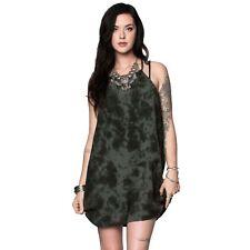 Metal Mulisha Maidens Women's Sharp Shooter Dress Tonal Tie Dye Allover Print
