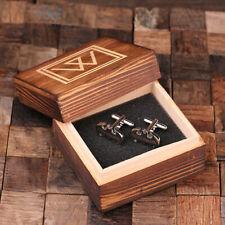 Personalized NWT Cuff Links Batman Groomsmen Gifts Father's Day Cufflinks