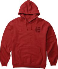 Brand New Mens Etnies Footwear Team Pullover Skateboard Hoodie Red