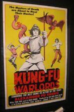 Tri Fold KUNG-FU WARLORDS Martial Arts SHAW BROTHERS