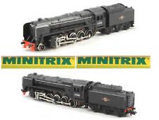 MINITRIX 209 E-Look BR92 Mr.BLACK BRITISH BOX SCALA-N