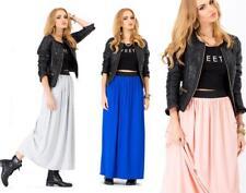 Skirt Maxi Skirt Long Skirt in 10 Colors Size S M L, 1066