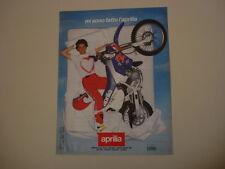 advertising Pubblicità 1991 MOTO APRILIA RX 50/125