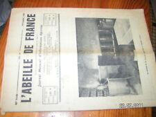 """L""""Abeille de France n°465 Pose cire gaufré Chauffe Miel"""