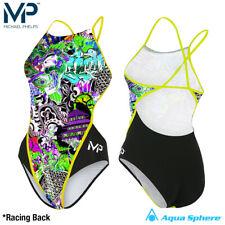 Aqua Sphere Michael Phelps DALE Womens Swimming Costume Race Back Training Suit