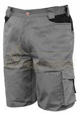 """Bermuda pantalone corto da lavoro ISSA LINE """"8734 Stretch"""" colore grigio"""