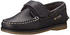 Naturino Boys 3094 Navy Leather Boat Shoe