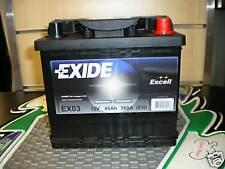 batteria auto exide excell 12v 44ah 360A (EN)