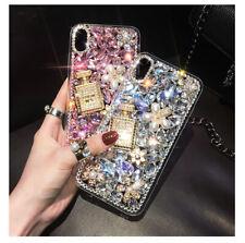 Perfume bottle Bling Phone case charm Glitter Diamond For Various Phone Case