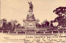 ESTATUA DE COLON: REFORMA MEXICO CITY MEXICO1905