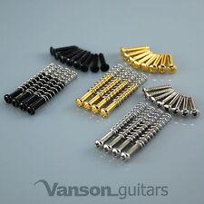 Nuevo 4 X Humbucker Tornillos de montaje & resortes & 8 X Anillo de montaje Tornillos, Vanson