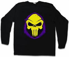PUNISHOR LANGARM T-SHIRT Skull Punisher Skeletor MOTU Comic
