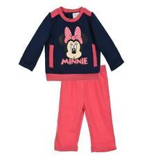 Tuta neonata Disney Minnie blu e fucsia