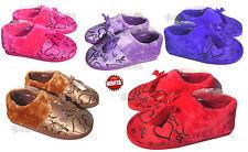pantofole con pelo ciabatte donna cuori idea regalo scarpe donna eco pelliccia