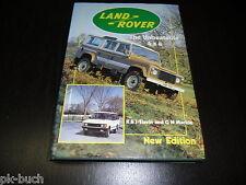 Bildband Land Rover The Unbeatable 4x4 K & J Slavin and G N Mackie Stand 1987
