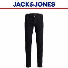 Jack & Jones Mens Black Jeans Glenn Original 816