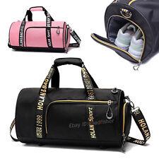 Women Men Handbag Sport Gym Training Shoes Case Basketball Shoulder Bag Luggage