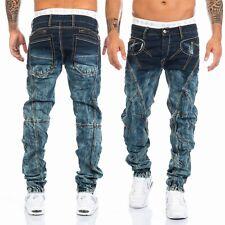 Cipo & Baxx Herren suturas Jeans Hose 289 azul nuevo w28 29 30 31 32 33 34 36 38 40