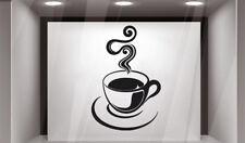 Wall Vinyl Sticker Coffee Food Drink Bakery Coffee house Kitchen GF548