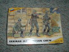 Zvezda 1/35 Ww2 German Machine Gun Crew