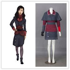 Avatar: The Legend of Korra Season 4 Asami Sato Uniform Cosplay Costume Custom