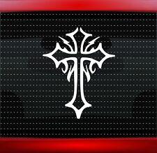 Cross #2 Christian Car Decal Truck Window Vinyl Sticker Fish Tribal (20 COLORS!)